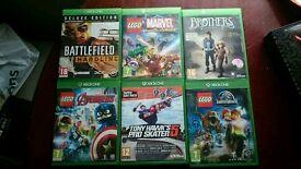 Xbox one games joblot