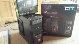 Killer i5 Quad Core Gaming PC, 8GB DDR3 RAM, 500GB HD, NEW Geforce GTX 1050Ti 4GB, Win 10