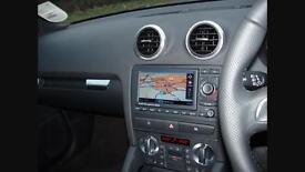Audi A3 s3 rns-e sat nav CD player MP3 Mmi 8p 2004-2012