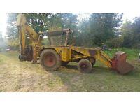 Jcb 3c loading shovel export