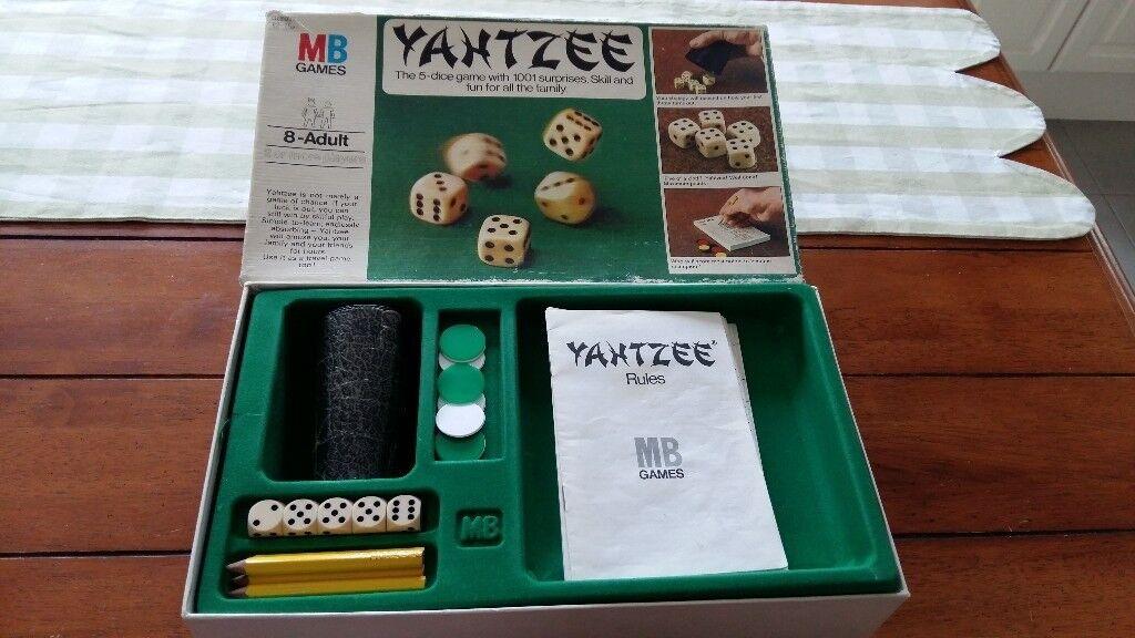 Vintage 1980s Board Games For Sale Monopoly Cluedo Yahtzee Travel Monopoly Master Mind In Alfreton Derbyshire Gumtree