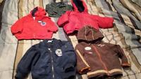 Baby boy coats Various sizes 6M to 18-24M