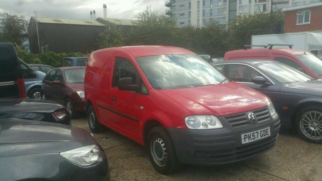 Volkswagen Caddy 69PS 2007 SWB RED No Vat