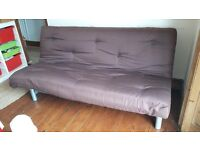 Sofa Bed from Dreams in very good condition - Chocolate Brown