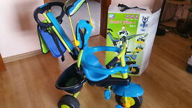 SMART TRIKE PLUS 3 IN 1 BLUE & GREEN