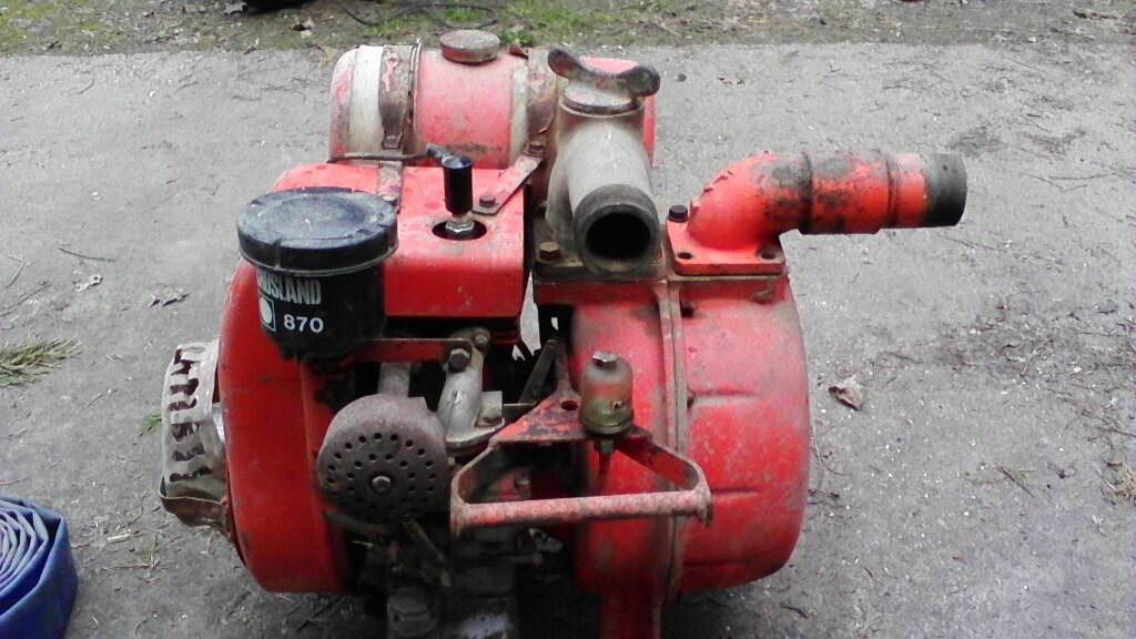 Johnson centrifugal 2 water pump with villiers engine in for Villiers 86