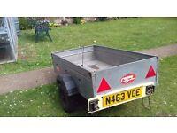 caddy car trailer 530 galvernized trailer 5 foot x 3 foot