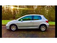 Peugeot 307 1.4, 11 Months MOT, Well Serviced, Cheap Car