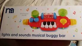 Light and Sound musical buggy bar