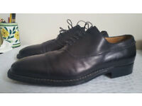 Sutor Mantellasi Black lace up shoes Size 10 1/2