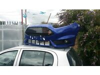 Ford fiesta st3 front end