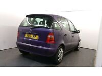 2000   Mercedes A140 Automatic  1 Year MOT   5 Doors   4 Electric Windows   HPI Clear
