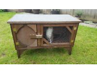 rabbit hutch wooden
