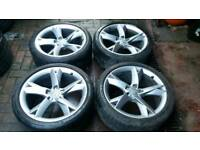 GENUINE AUDI 19 INCH ALLOY WHEELS 5x112 A5 A6 A7 VITO VW RS3 S3 T4