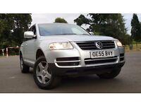 2006 Toureg v6 3 litre diesel for sale,dsg gear box,Full vw service history ,full mot history £6795