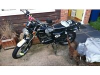Sinnis Scrambler 125cc low mileage