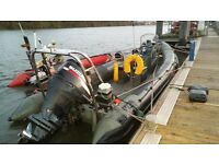 Reduced - XS 700 RIB With Suzuki DF200 Outboard For Sale