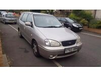 Kia caren 1. 8 mot dec 17