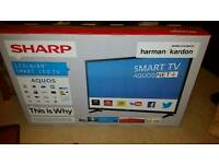 "Brand new 49"" sharp smart tv"