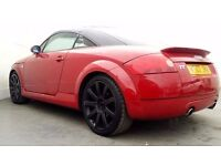 2002 | Audi TT | RED Edition | 3 Doors | | service history | 1 Year MOT