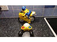 Remote control Ducati motorbike toy