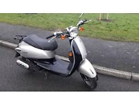 50cc Scooter, SYM Fiddle, Good Condition, Full Years Mot
