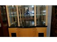 beautiful Italian display cabinet, Excellent condition