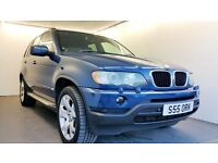 BMW X5 3.0 Sport | SAT NAV & TV | BEIGE LEATHER | PRIVATE PLATE | 1 YEAR MOT | FULL SERVICE HISTORY