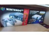 Empty Nintendo boxes