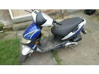 Keeway hurricane 50cc scooter