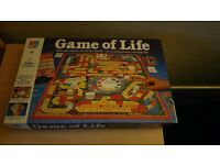 Game of life vintage board game