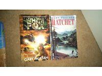 Gary Paulsen Books: White Fox and Hatchet