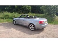AUDI Sline convertible 2.5 tdi, px swap why.
