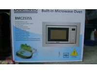 Baumatic Built in microvave oven