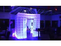 Inflatable LED Photobooth for Hire across Yorkshire