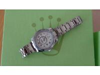 Rolex Sky Dweller - silver