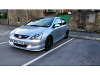 Honda Civic EP3 Type R 2004 facelift leather/fogs/alabaster silver *high spec* pristine example FSH