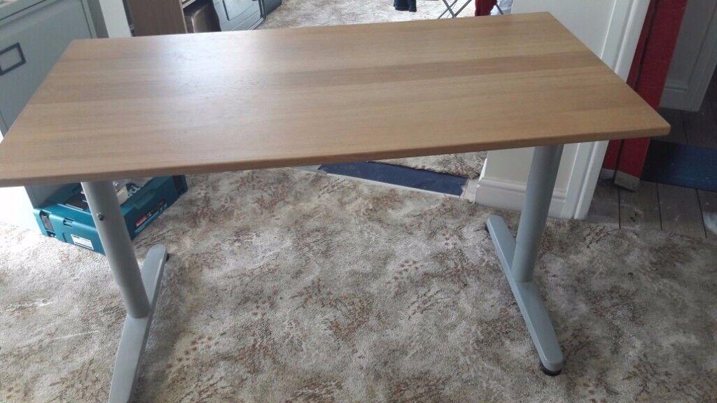 Ikea beech desk