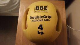 yellow 4kg gym ball