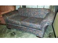 Paisley 2 Seater Sofa Settee - Great Condition
