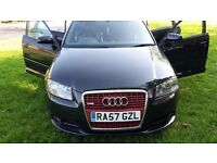 2007 AUDI A3 1.8 T FSI S LINE AUTO BLACK SPECIAL EDITION Fast car Drive like new