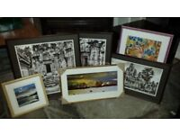 Six Framed Pictures - Incas ?