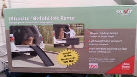 Ultra lite dog ramp only used couple times