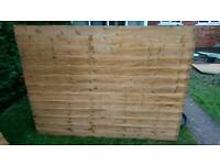 Garden shed 7 x 5 in parts