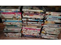Selection of 72 DVDS