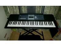 Yamaha Keyboard YPT-230 with stand and seat