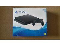 Playstation 4 Slim console 500GB like new
