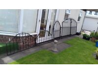 Wrouht iron gates and railings