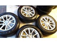 Gennuine Audi vw alloy wheels 18 inch pcd 5x112