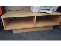 Low shelving unit - good TV stand